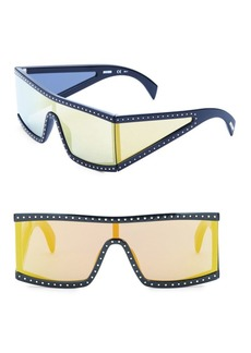 Moschino Multilayer 99MM Futuristic Sunglasses