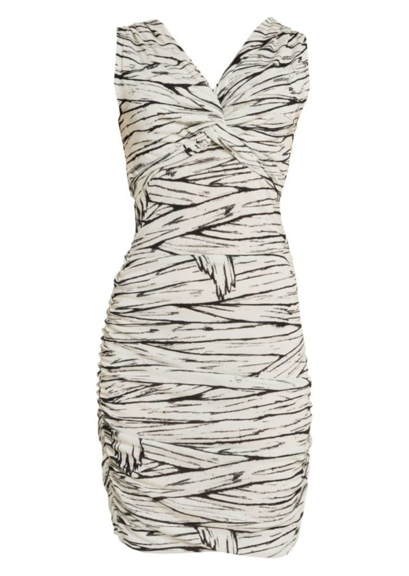Moschino Mummy Print Bodycon Dress