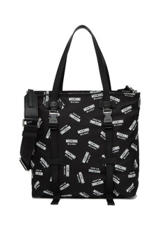 Moschino Nylon Logo Tote Bag