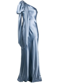 Moschino one-shoulder gown