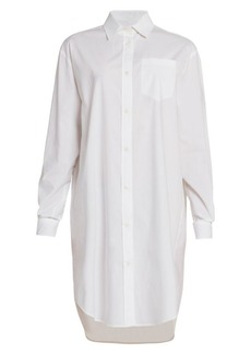 Moschino Oversized Button Down Shirtdress