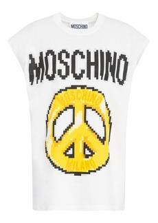 Moschino x Sims Pixel Capsule Peace Tee