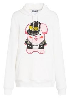Moschino x Sims Pixel Capsule Lucky Bunny Sweatshirt