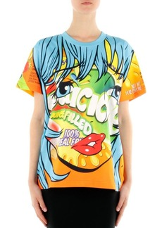 Moschino Oversized Printed Jersey T-Shirt