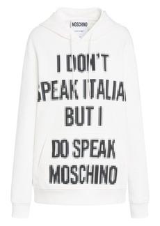 Moschino x Sims Pixel Capsule Cotton Sweatshirt