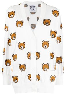 Moschino oversized Teddy pattern cardigan