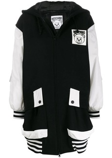 Moschino oversized zip up coat