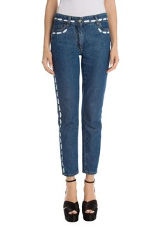 Moschino Paint Detail Jeans