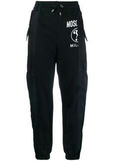 Moschino panelled tapered trousers