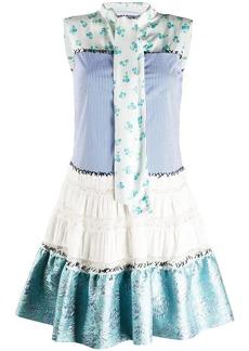 Moschino patchwork short dress