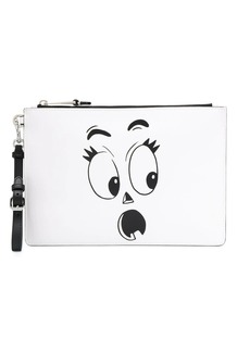 Moschino Phantom face clutch