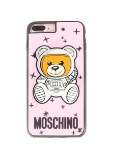 Moschino Pink Astro Bear iPhone 8 Case