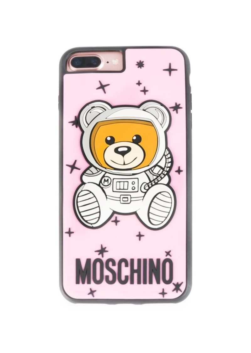new arrival c0245 860a9 Pink Astro Bear iPhone 8 Case