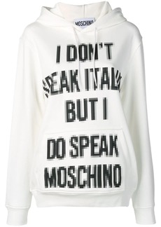 Moschino Pixel Capsule hoodie