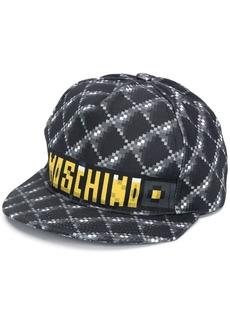Moschino pixelated logo cap