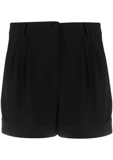 Moschino pleat detail tailored shorts