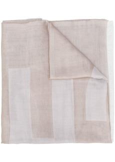 Moschino printed logo scarf