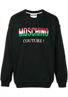 Moschino printed logo sweatshirt