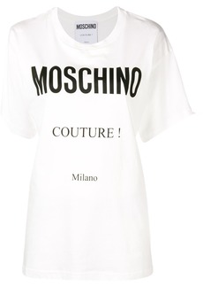 Moschino printed logo T-shirt