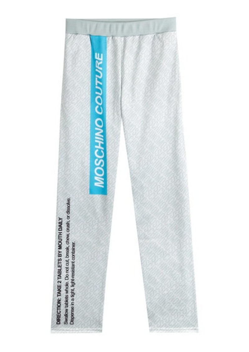 Moschino Printed Sweatpants
