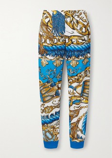 Moschino Printed Tech-jersey Track Pants