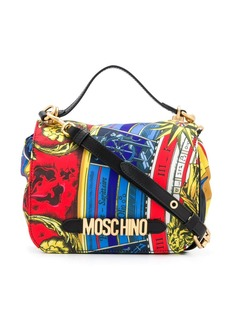 Moschino printed tote bag
