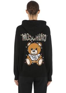 Moschino Printed Wool Sweatshirt Hoodie