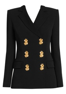 Moschino Prize Winner Double-Breasted Blazer