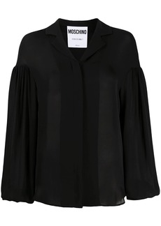 Moschino puff-sleeve shirt