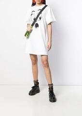 Moschino Pumpkin Face print jersey dress