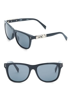 Moschino PZ 53MM Square Sunglasses