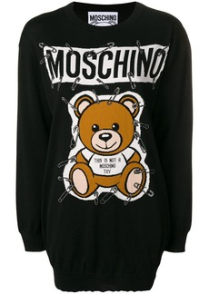 Moschino Ready to Bear knit dress