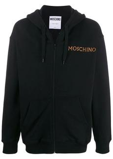 Moschino rear printed hoodie