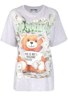 Moschino Rich Teddy print T-shirt
