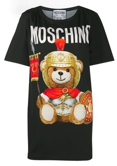 Moschino Roman teddy bear T-shirt dress