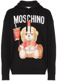 Moschino Roman Teddy print hoodie