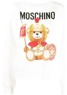 Moschino Roman Teddy print sweatshirt