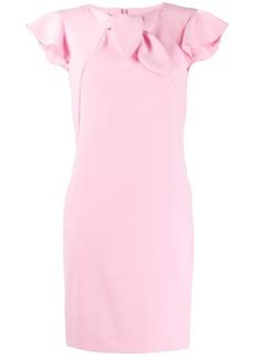 Moschino ruffled sleeve dress