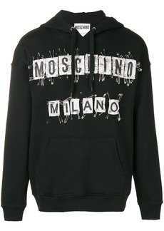 Moschino safety pin hoodie