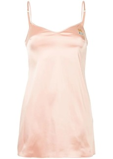 Moschino satin slip dress