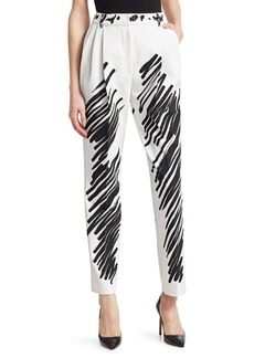 Moschino Scribble Print Pants