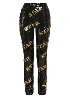 Moschino Sequin Skinny Pants