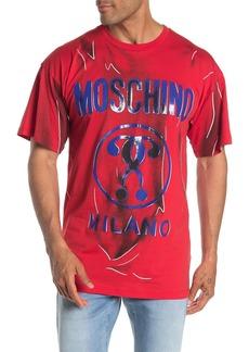 Moschino Short Sleeve Graphic Print T-Shirt
