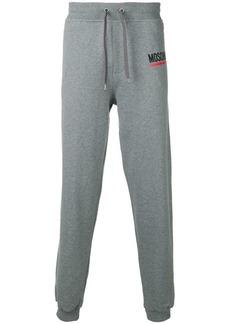 Moschino side logo track pants