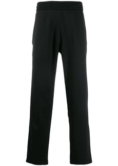 Moschino side stripe track trousers
