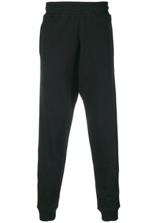 Moschino side-striped tapered track pants