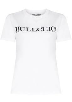 Moschino slogan print T-shirt