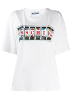 Moschino slots machine motif T-shirt