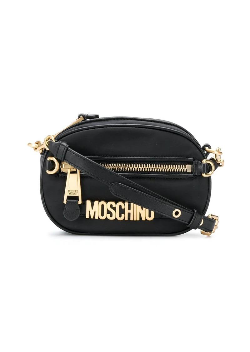 Moschino small logo shoulder bag