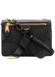 Moschino square shaped shoulder bag